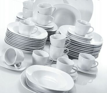 прокат посуды в Кыргызстан: Аренда посуды в БишкекеПрокат посуды: тарелки большие и маленькие