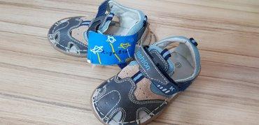 детская анатомическая обувь в Кыргызстан: Продаю сандали. новые. размер 22. на ножку до 15 см. спортивные