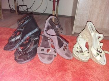 Sandale malo nosene iz Švajcarske 38 br. - Vrnjacka Banja