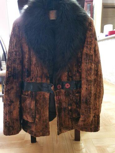 Jakna sa krznom - Srbija: Sako-jakna iz Turske sa vestackim krznom, jako interesantna, sa