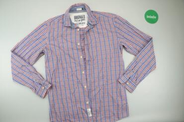 Чоловіча сорочка у клітинку Jack & Jones, M    Довжина: 76 см Напі