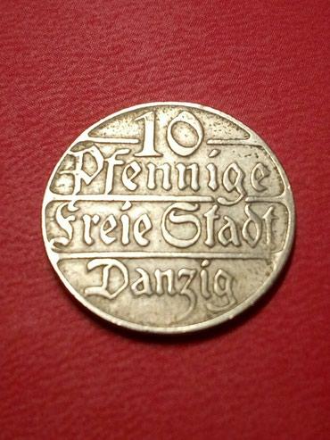 Sport i hobi | Kragujevac: Kovanica 10 feninga Danzig 1923god retko