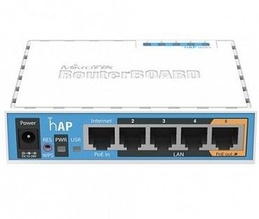 Wi-Fi pоутер MikroTik hAP RB951Ui-2nD - Гарантия 1 в Бишкек