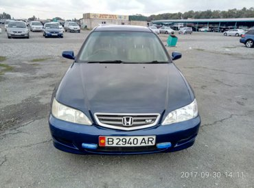 Honda accord 2002 г. в. 2. 3 объем, 147000 км, автомат, англичанка, ко в Бишкек