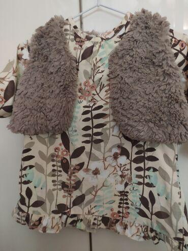Next платье - Кыргызстан: Вельветовое платье от Next. Размер 12m. Состояние как новое