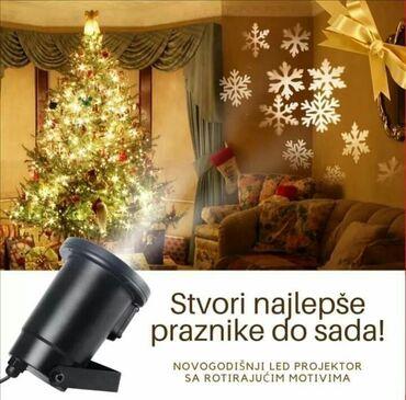 Za osvetljenje fasade kuće, božićne jelke, drveća u bašti u