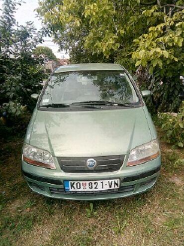 Manuel - Srbija: Fiat Idea 2004   170000 km
