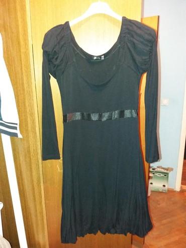 SHOOTER + POKLON ... crna haljina..koriscena...Vel M.Duzina 93. - Bor