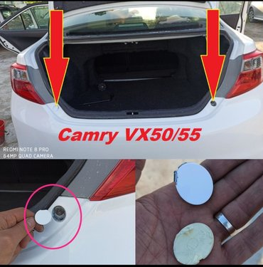 Заглушки заднего бампера от Camry VX50-55