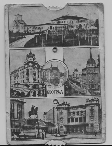Razglednice   Srbija: STARE crno bele razglednice i u koloru sve zajedno 3500 dinara