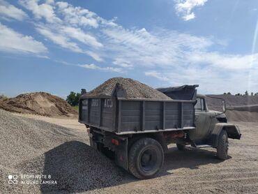 Автоуслуги - Кыргызстан: Отсев щебень смесь песок сеяный ивановскийМатериал отсев мытый