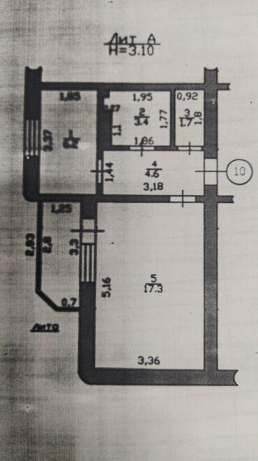 пансионат солнечный в Кыргызстан: Продается квартира: 1 комната, 33 кв. м