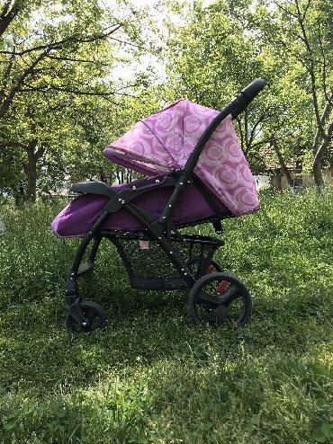 прогулочную коляску лёгкая и удобна в Кыргызстан: Продаю коляску б/у с рождения до 3 лет !Очень удобнаяманевренная ! (