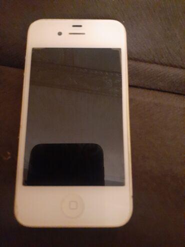зарядка iphone 4s в Азербайджан: Б/У iPhone 4S Белый