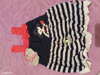 Letnja haljinica za devojcice,vel. 74,nova sa etiketom. Proizvodjac - Kraljevo
