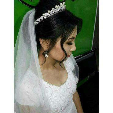 Свадебная прическа в Бишкек