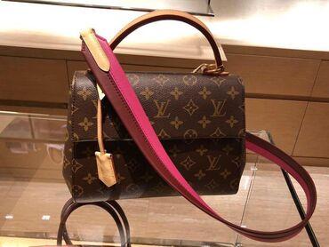 Сумка LV Louis Vuitton Cluny bb. 1:1 реплика премиум люкс, ни одного о