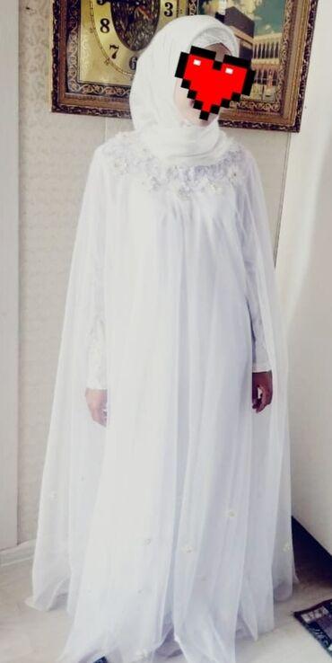 свадебное платье размер 46 48 в Кыргызстан: Свадебное платье Абая. Размер 46-48 Новое