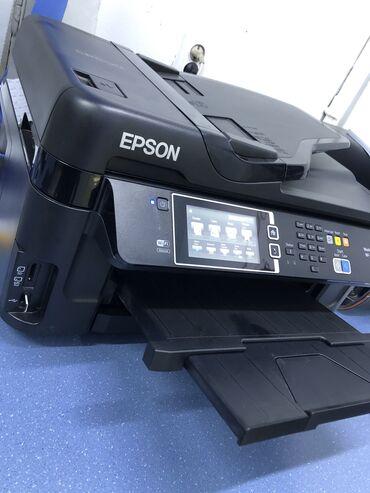 Epson 7610 .  МФУ А3 4 цвета. Принтер+сканер+копир+факс
