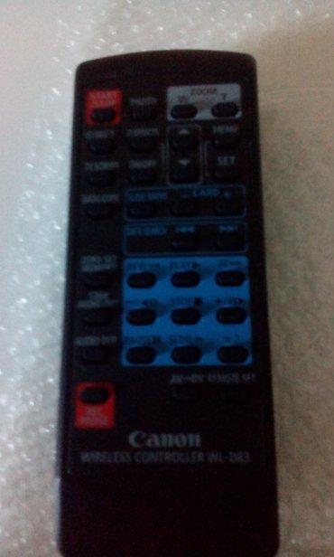 Elektronika - Kula: Canon wireless controller wl-d83 novo dobijen us fotoaparata nikad