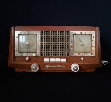 """""""Grundig Heinzelmann"""" Radio. 1953-1955. (İşləyir.)İstehsalçı"""