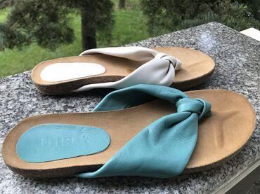 """Prelepe i jako udobne papuče""""UNA"""", broj 36 gaziste 23cm, 37 gazište 24"""