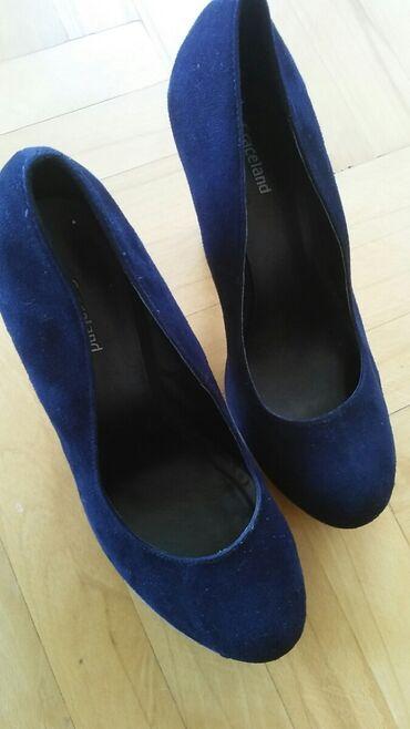 Graceland teget cipele od velura. 39. Stanje kao na slikama