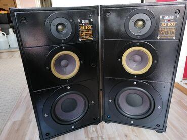 Radio Akustika - Ei Niš As - 803 Odlično očuvani i ispravni 110w - 8