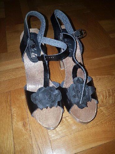 Prelepe kozne sandale, nove,broj 41 gaziste 27 - Pozarevac