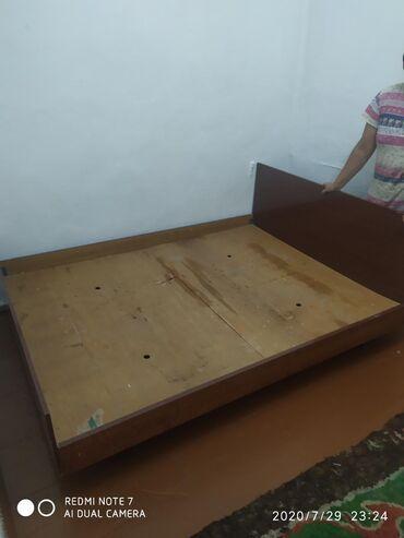 Двуспальные кровати в Сокулук: Продаю б/у кровать. Телевизор б/у Авест