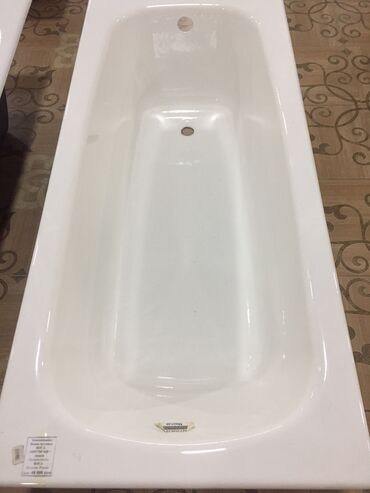 """ванна цена ош в Кыргызстан: Ванна чугунная """"ROCA"""" 1600*700.Глубина 42.+ ножки в"""