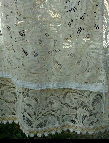 Drzaci za carape - Indija: Dve zavese dim.2.50x6.30Usivene trake za kacenjeCena za obe,moze i