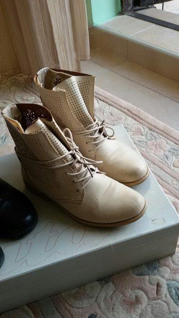Kratke krem čizme, broj 39. - Lebane