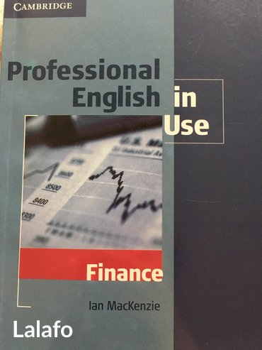 Bakı şəhərində Professional english in use (finance)  kitab tep-tezedir. Hec iwlenmey