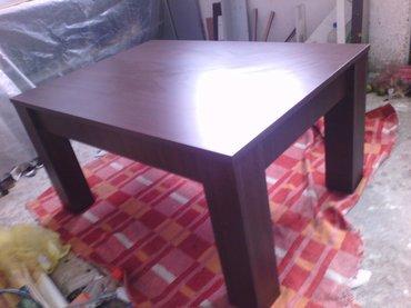 -klub sto se izradjuje od univera debljine 18mm u wenge dekoru -dimenz - Beograd
