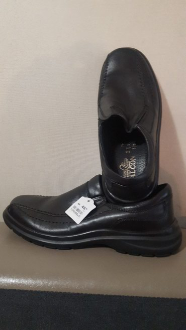 Туфли муж.кожа Европа 44 р очень удобная подошва цена 3500 в Бишкек