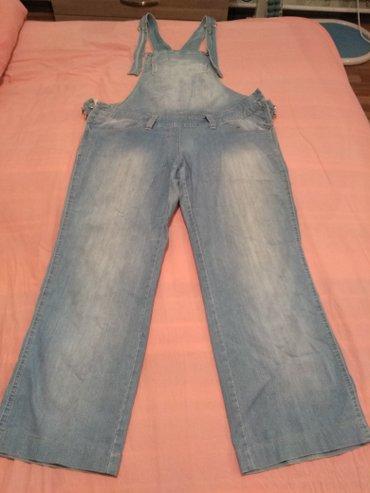 Bakı şəhərində Комбинезон для беременных джинсовый,С заклёпками и резинкой,чтобы регу