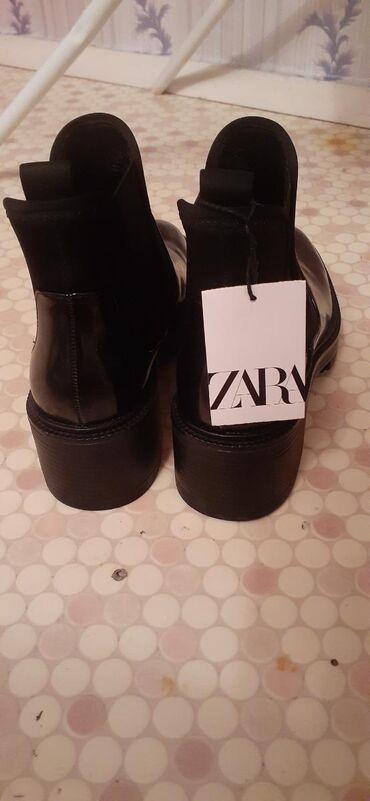 botinki 37 razmer в Кыргызстан: Деми Zara новые  Размер: 37  Заказывали из Америки размер не подошёл