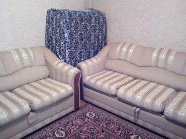 Продаю, срочно!  (в наборе: диван, мини диван и кресло) состояние в Бишкек