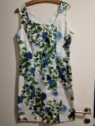 Ženska odeća   Bela Crkva: Haljina italijanska moze od M do Xl ima elastina duzina 90cm