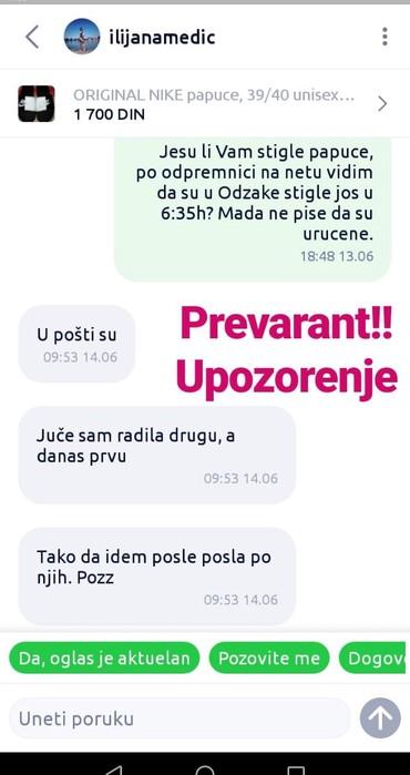 Postovane, i postene kolege sa ovih oglasa OBRATITE PAZNJU NA OVAJ - Kragujevac