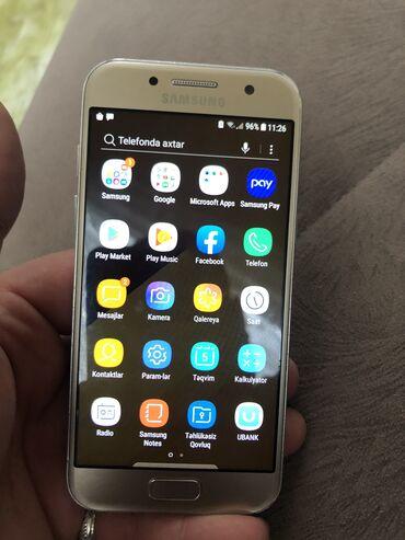 buick excelle 16 mt - Azərbaycan: İşlənmiş Samsung Galaxy A3 2017 16 GB qızılı