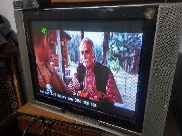 телевизор диагональ 72 в Кыргызстан: Продаю Телевизор 72 диагональ. + Ресивер(приставка) + тумбочка