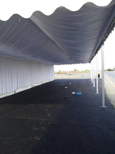 Bakı şəhərində Tetbirler ucun VIP palatkalar