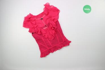 Жіноча блуза з рюшами Karen Millen, p. XS    Довжина: 50 см Ширина пле