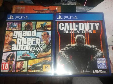 GTA V + CALL OF DUTY BLACK OPS 3 + XEIRHSTHRIO DUALSHOCK 4 GIA PS4 KAI σε Αθήνα