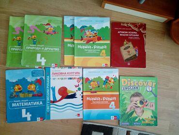 Knjige, časopisi, CD i DVD | Obrenovac: Udzbenici za cetvrti razred200 din po komadu