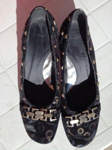 Ženska obuća | Zrenjanin: Cipele 40. Unutrasnje gaziste 26 cm. Par puta nosene, flekice u