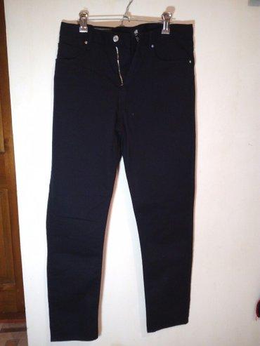 Чёрные новые брюки(slim fit). Привезены с в Бишкек