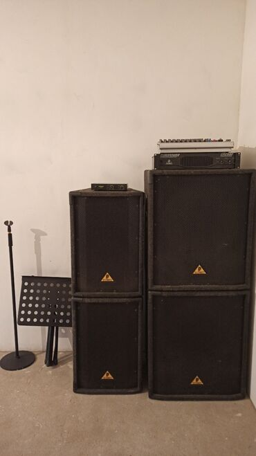 Продаю фирменную музыкальную аппаратуры: Два 12ти дюймовых динамика Дв